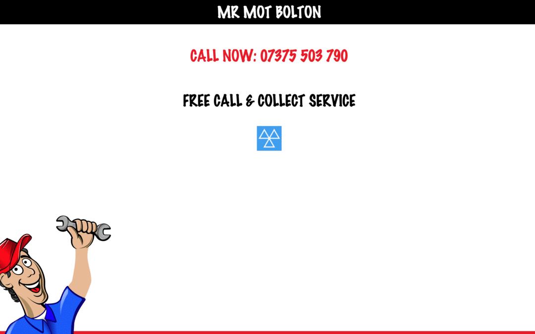 Mr MOT Bolton